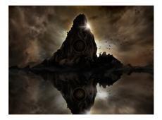 Fotótapéta - Sötét föld