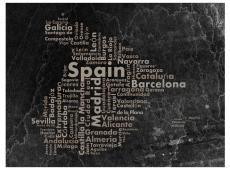 Fotótapéta - Spanyolország - nagyvárosok, kisvárosok ...