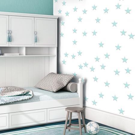 Fotótapéta - Stars - Aquamarine