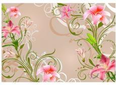 Fotótapéta - Subtle beauty of the lilies