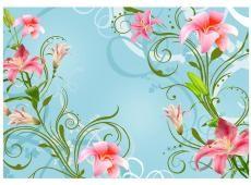 Fotótapéta - Subtle beauty of the lilies II