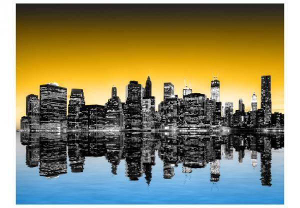 Fotótapéta - Sunny glow over New York