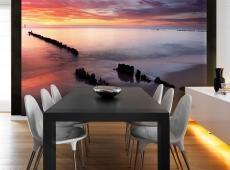 Fotótapéta - Sunrise át a Balti-tenger