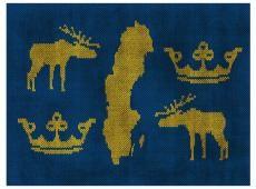 Fotótapéta - Sweden - symbols
