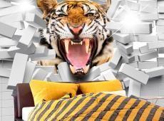 Fotótapéta - Tiger Jump