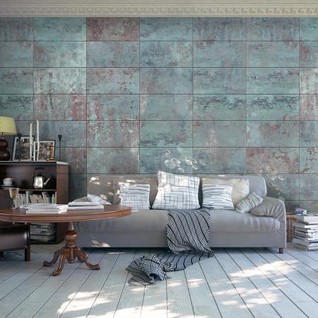 Fotótapéta - Turquoise Concrete