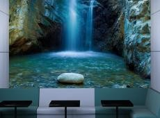 Fotótapéta - Vízesések Troodos hegység, Ciprus