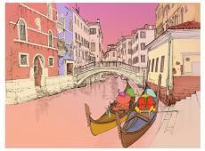Fotótapéta - We love gondolas