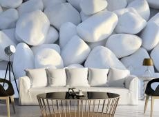 Fotótapéta - White Pebbles