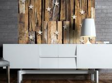 Fotótapéta - Wooden Constellation