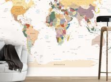 Fotótapéta - World Map