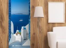 Fotótapéta ajtóra - Holidays in Greece
