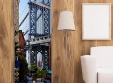 Fotótapéta ajtóra - New York: Bridge