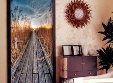 Fotótapéta ajtóra - Photo wallpaper - Pier on the lake I
