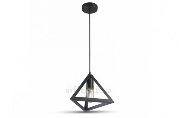 Geometrico fekete mennyezeti lámpa