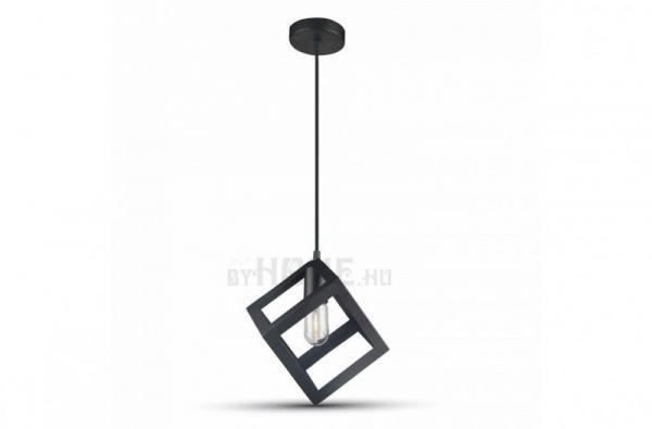 Geometrico II.  fekete mennyezeti lámpa