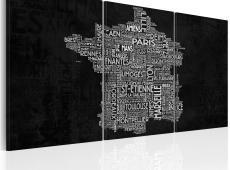 Kép - A Montpelier a St-Etienne (fekete-fehér)