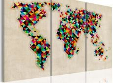 Kép - A világ, mint egy kaleidoszkóp - triptych