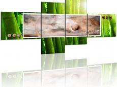 Kép - Absztrakció és bambuszból