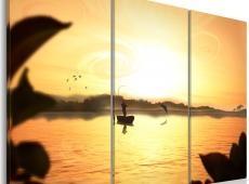 Kép - An angler by a lake