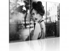 Kép - An elegant woman, retro style