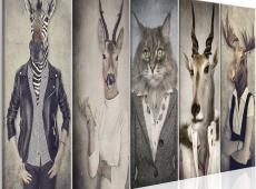 Kép - Animal Masks I