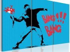 Kép - Bang bang! - triptych