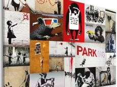 Kép - Banksy - collage