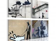 Kép - Banksy - négy eredetinek ötletek