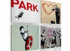 Kép - Banksy - városi inspiráció
