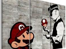 Kép - Banksy: Mario Bros