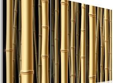 Kép - Brown bamboo stalks