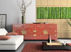 Kép - Canvas print - Bamboo wall