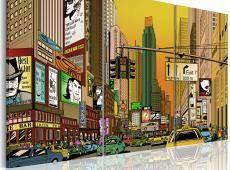 Kép - Cartoon NYC