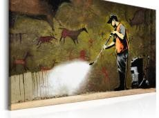 Kép - Cave Painting by Banksy