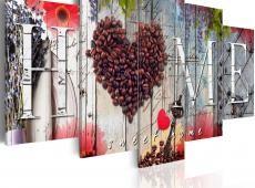 Kép - Coffee heart