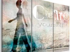 Kép - Create yourself - triptych