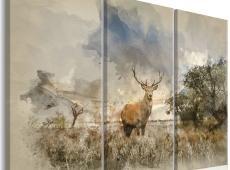 Kép - Deer in the Field I