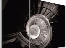 Kép - Down a spiral staircase