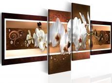 Kép - Elegáns orchideák absztrakció