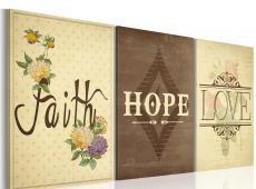 Kép - Faith, Hope & Love