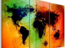 Kép - Fekete földek - triptych