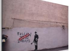 Kép - Follow your dreams: cancelled (Banksy)