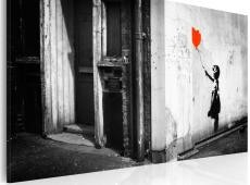 Kép - Girl with balloon (Banksy)