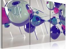 Kép - Glass bubbles - triptych
