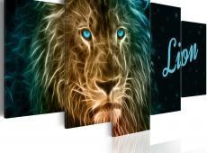 Kép - Gold lion