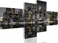 Kép - Golden flash of skyscrapers