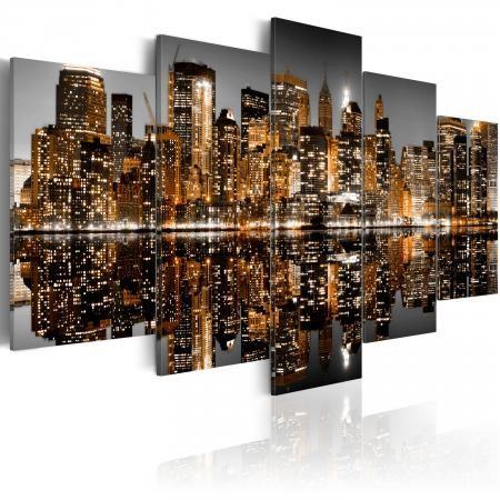 Kép - Golden impressions from Manhattan