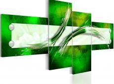 Kép - green  abstract pattern