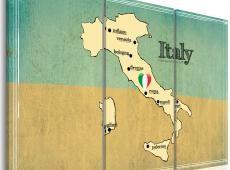 Kép - Heart of Olaszország - triptych